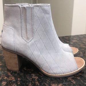 Shoes - Toms Majorca Prep Toe Heel Bootie